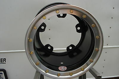 "Sherwood Racing Wheels Steel 05 Series Beadlock 15x12-5"" Wide 5 Black"