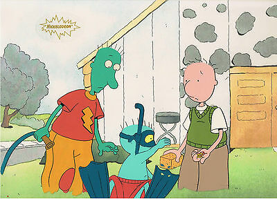 DOUG ANIMATION ART PRODUCTION CEL