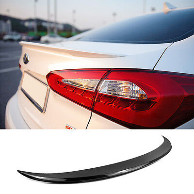 Rear Trunk Lip Lid Spoiler Cover PAINTED For KIA 2013-2017 Forte Cerato K3 Sedan