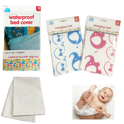Baby Nappy Changing Mat Waterproof Cover Cot Bedding Diaper Pad Toddler Infant