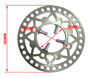 New Hd 180Mm Front Brake Disc Disk Rotor Caliper Pit Dirt Bike Atv Quad Buggy
