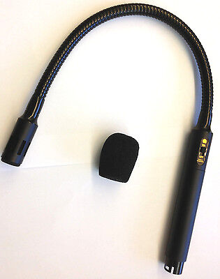 New Speco MGS-2 Uni-Directional Condenser Goose Neck Microphone MGS2