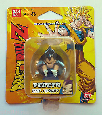 Figura DRAGONBALL-Z VEGETA BANDAI ORIGINAL BLISTER 5 cm- NEW