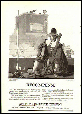 1922 vintage ad for American Radiator Co. -1493