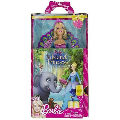 Mattel Barbie The Island Princess Fairytale Collection Doll & Book Gift Set New