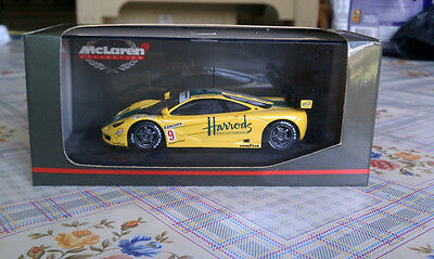 Minichamps 1:43 McLaren F1 GTR Ring Mach One Wallace Harrods #9