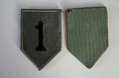 Authentic US Army 1st Infantry Division ACU Velcro Military Patch Perfect Cond