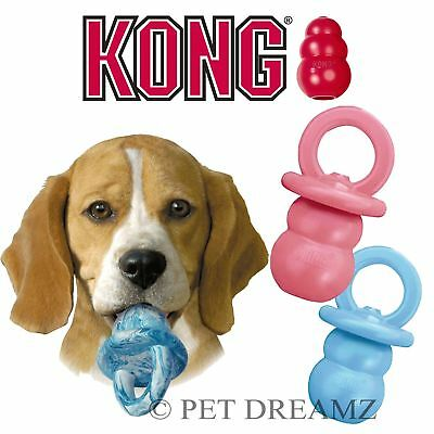 Kong Binkie Durable Puppy Teething Soothing Chew Treat Dispenser Toy