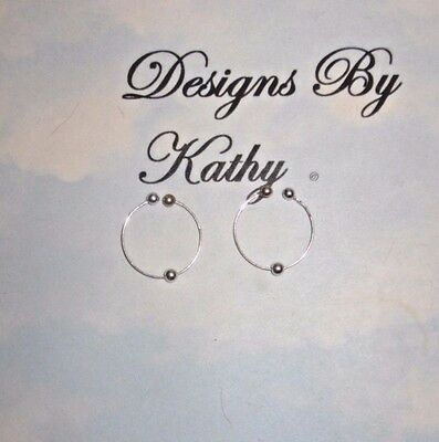 The   Natural Silver Bead   Non Piercing Nipple Ring Jewelry