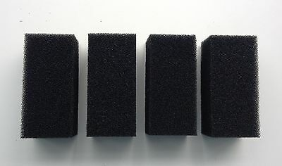 4 x Replacement Foam Filters for 600l/h Aquarium Internal Filter for Fish Tank