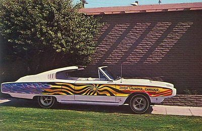 Barris 1967 Dodge Thunder Charger Show Rod Photo POSTCARD Thunder Alley Movie