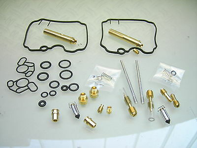 2x COMPLETE MADE IN JAPAN BIG CARBURETOR REPAIR KIT XTZ 750 SUPER TENERE ´89-´97