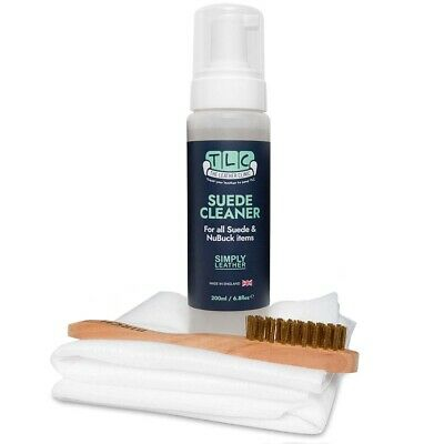 Simply Leather Suede & NuBuck Cleaning Kit.  Inc. Brush & Cloth