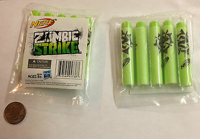 Sdcc 2013 Exclusive From Hasbro Zombie Strike By Nerf For A Set Of 3 Packs Rare!