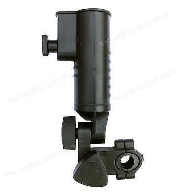 Golf Trolley Umbrella Holder for Powakaddy Hillbilly Moto kaddy & Universal