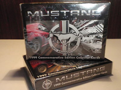 MUSTANG - 1999 Commemorative Edition Collector Cards