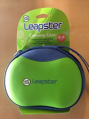 *NEW* Leap Frog Leapster & Leapster 2 Carrying Case Brand New GREEN & BLUE