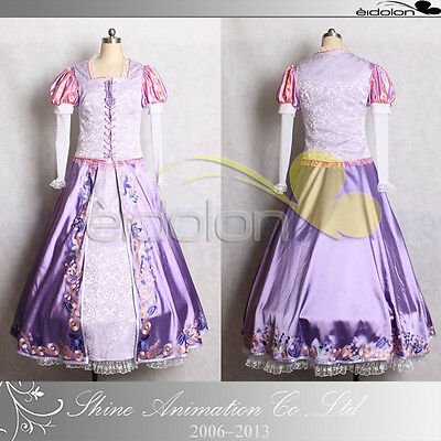 EE0265AA Tangled Rapunzel Cosplay Costume
