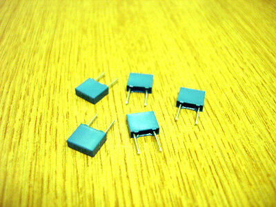 Poly Box Caps 5mm Packs of 5 (63v)   See Variations Electronic Components