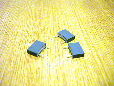 Poly Box Caps 10mm Packs of 3  See Variations ( Electronic Components )