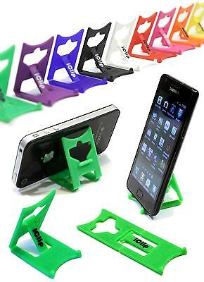 Mobile Smart Phone Holder GREEN iClip Folding Travel Desk Stand Rest : iPod MP3