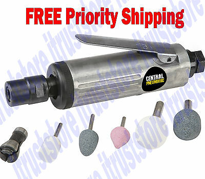 Air Powered Straight Die Grinder Polishing Cutting Rotary Grinding Tool Kit