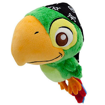 "Disney Store Jake and the Never Land Pirates Skully Plush Soft Doll Size 6"" NWT"