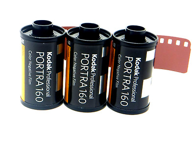 3 x KODAK PORTRA 160 35mm 36 Exp CHEAP PRO COLOUR FILM By 1st CLASS ROYAL MAIL