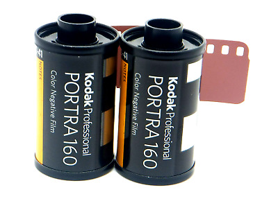 2 x KODAK PORTRA 160 35mm 36 Exp CHEAP PRO COLOUR FILM DISCOUNTS ON MULTI BUYS