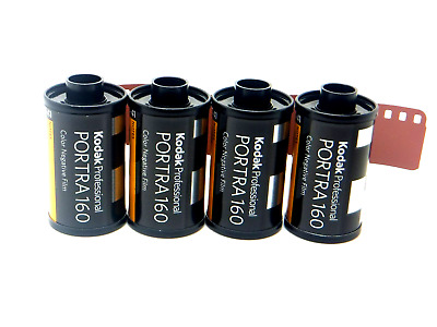 4 x KODAK PORTRA 160 35mm 36 Exp CHEAP PRO COLOUR FILM By 1st CLASS ROYAL MAIL