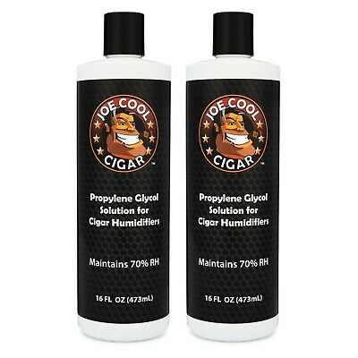 16 oz Propylene Glycol PG Solution for Cigar Humidors - 2 PACK - Joe Cool Cigars
