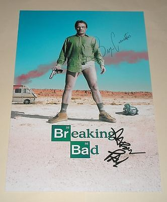 "Breaking Bad Pp Signed 12""x8"" Poster Bryan Cranston"