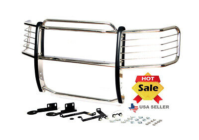 09-14 Ford F-150 (w/ tow hooks) chrome brush grille Grill Guard- Stainless Steel
