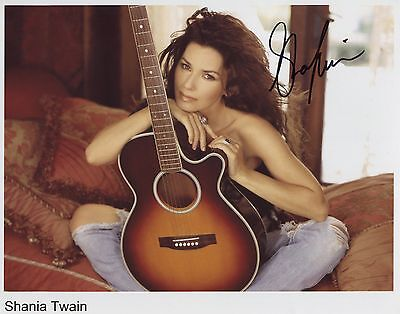 Shania Twain SIGNED Photo 1st Generation PRINT Ltd 150 + Certificate /4
