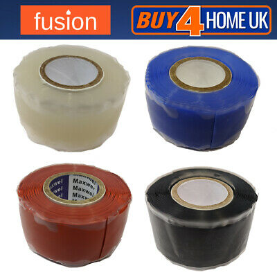 Silicone Rescue Repair Tape Self Fusing Bonding Electrical Wires Hose 25mm - 3m