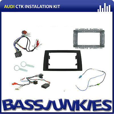 CTKAU02 Audi A4 2002-2006 Car Stereo Double Din Fascia & Steering Interface Kit
