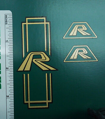 Raleigh bicycle  Rampar decal set