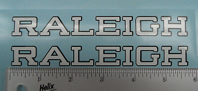 Raleigh  down tube bicycle decals