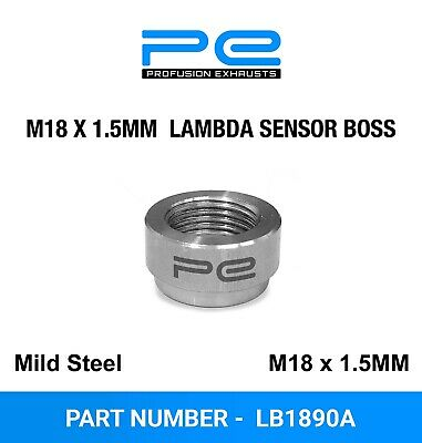 Exhaust Lambda Boss Nut Weld-on M18 x 1.5 O2 Oxygen sensor - LB1890A