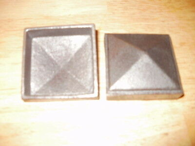 """4""""  Fence Post Topper Cast Iron Cap Fits 4"""" post. #144 each Flat Rate Shipping"""