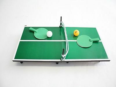 Miniature Ping Pong Table Tennis everything included 62cm x 32 x 11.5cm