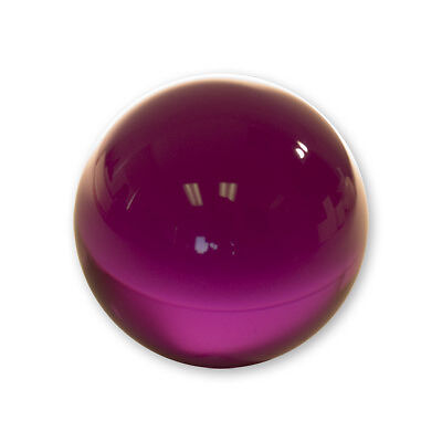 Contact Juggling Ball (Acrylic, PURPLE, 76mm) magic trick stage stand-up