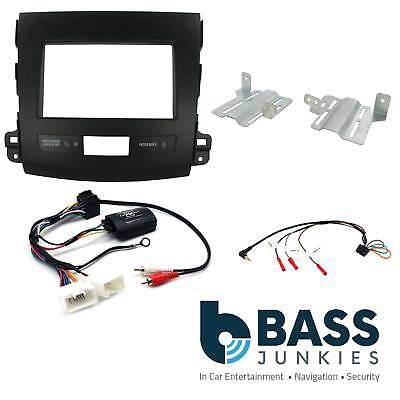 Connects2 CTKMT04 Mitsubishi Lancer 2008-2010 Complete Double Din Fitting Kit