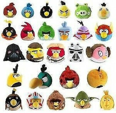 """Official, Brand New 6"""" Angry Birds  Soft Plush Toy Bnwt - Licensed Product"""