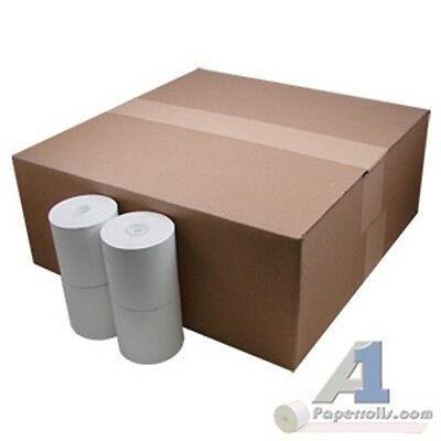 "3 1/8"" x 273' Thermal Cash Register Paper Rolls 50 Case"