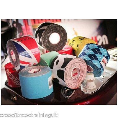 ROCKTAPE Kinesiology Tape Football  Rugby Cycling Tennis  CrossFit Physio