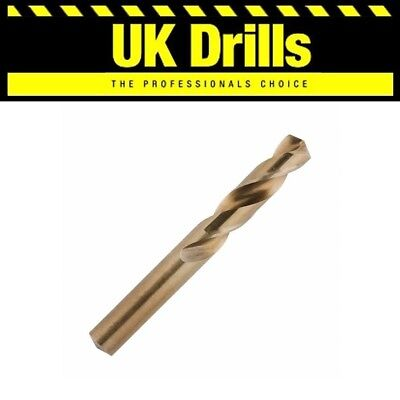 Quality Cobalt Stub Drill Bits - All Sizes Listed
