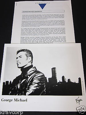 George Michael 'Songs From The Last Century' 1999 Press Kit--Photo