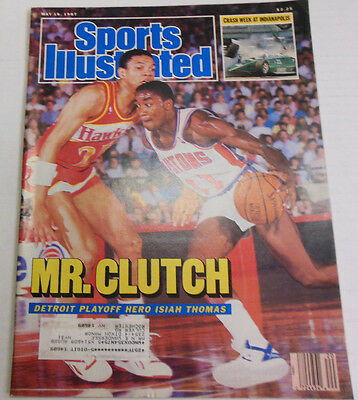 Sports Illustrated Magazine Mr.Clutch May 1987 081613R1