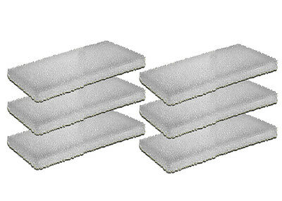 6 Foam/Sponge Filter Media Pads For Fluval U2